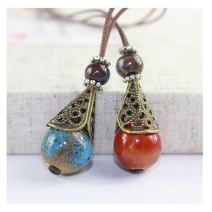Jewelry - ❣️Host Pick ❣️Boho Style Necklace Bundle NWT